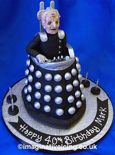 Davros from Dr Who Birthday Cake coolest cake collection