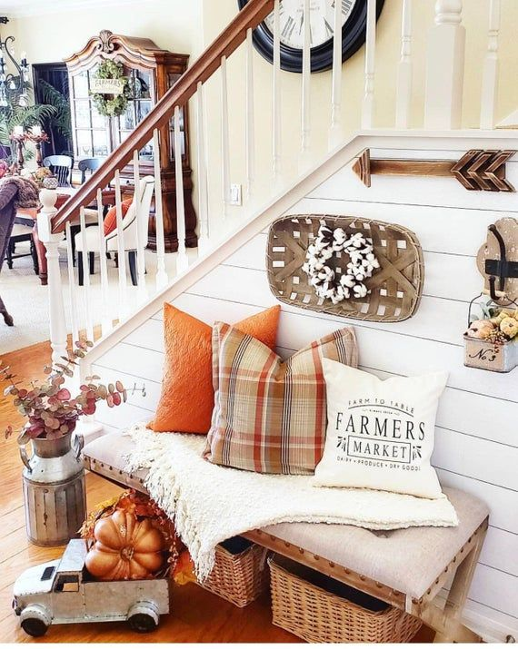 farmers market pillow cover, Joanna Gaines style, farmhouse style, modern farmhouse decor, fixer upper decor #falldecorideasforthehome