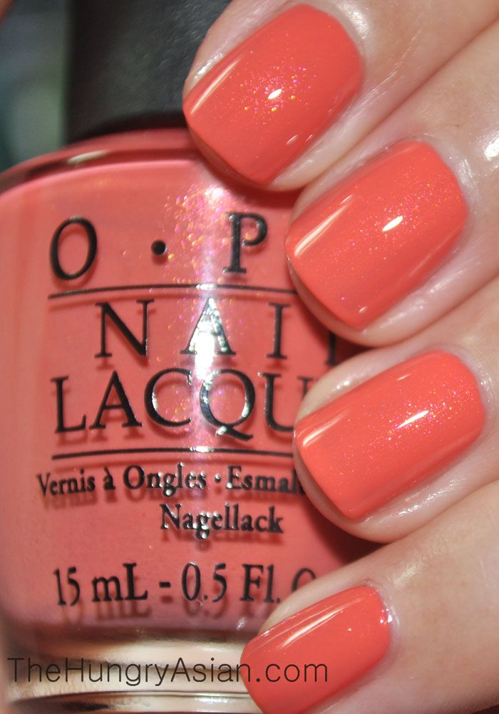 Opi Are We There Yet With Just A Touch Of Sparkle