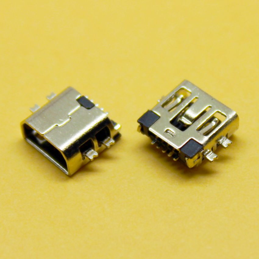 2016 Hot Mini USB connector Type B Female Port 5-Pin micro usb ...