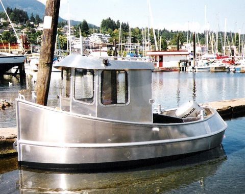 Candu E Z, Mini Tugboat Plans, Tugboats