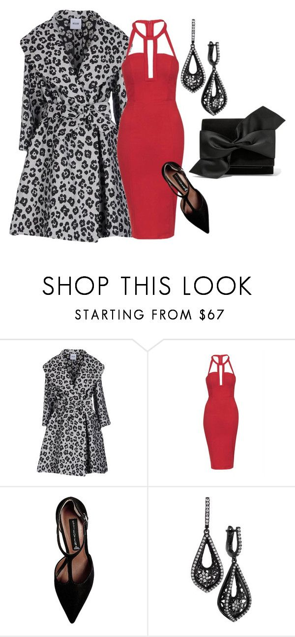"""Big date tonight"" by bsimon-1 ❤ liked on Polyvore featuring Moschino Cheap & Chic, Topshop, Steve Madden and Victoria Beckham"