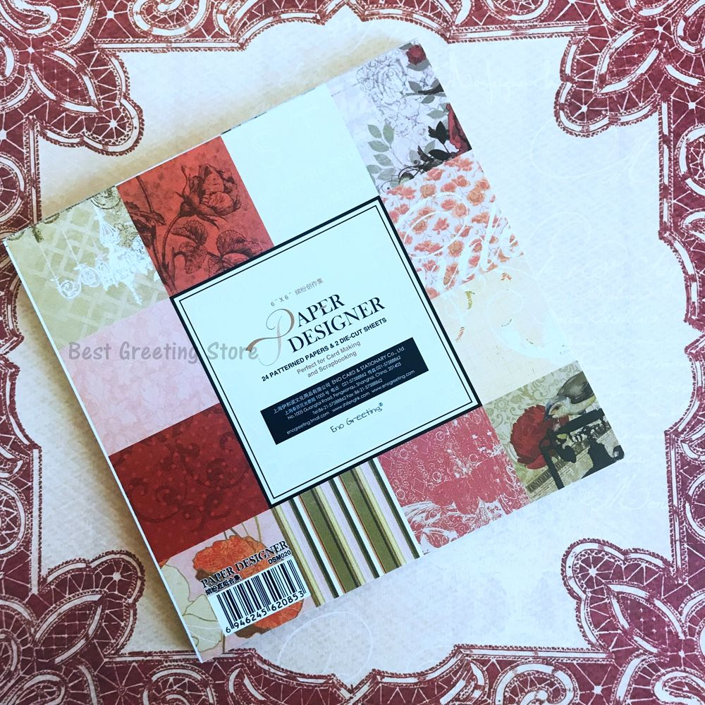 Find more craft paper information about 6 inch paper designer for find more craft paper information about 6 inch paper designer for card making and scrapbooking vintage floral flower background paper pack high quality jeuxipadfo Image collections