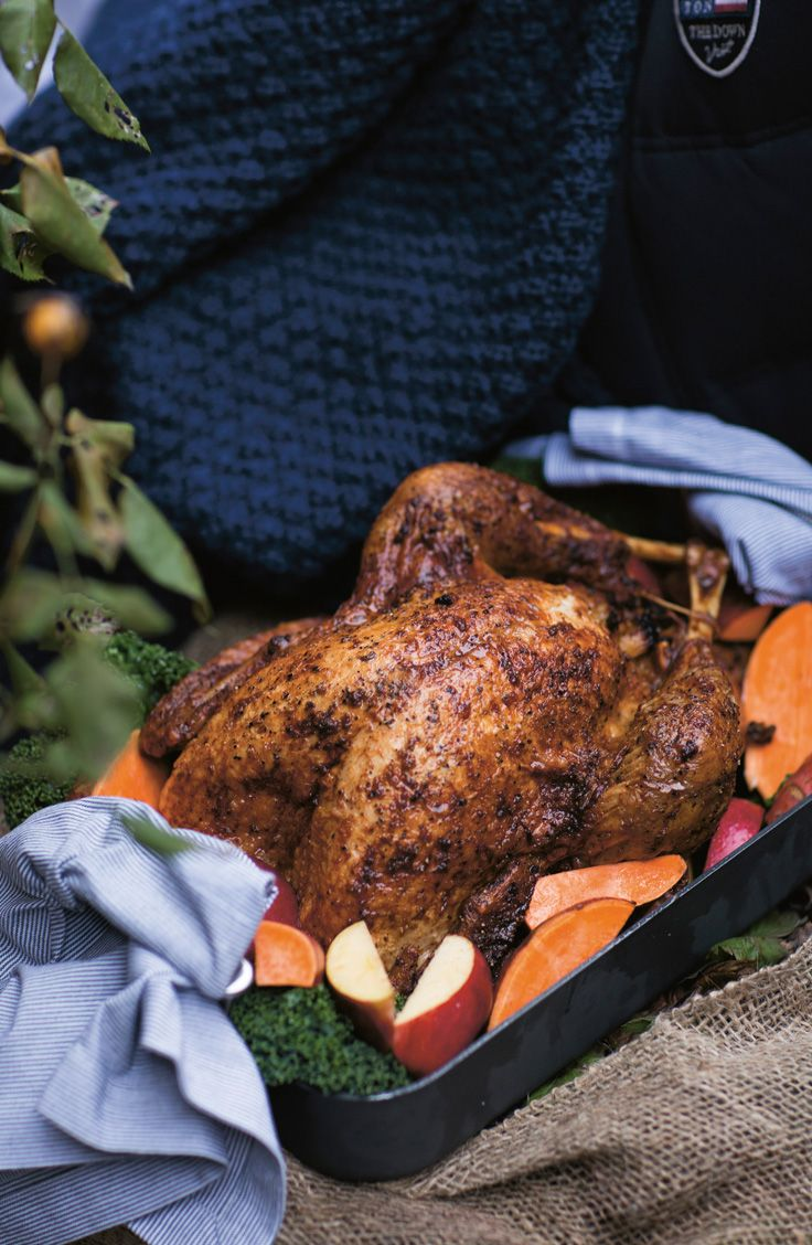 Thanksgiving dinner turkey