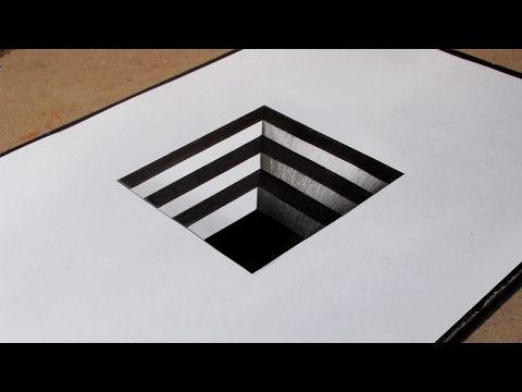 Uc Boyutlu Kolay Cizimler Karmasik Desen How To Draw 3d
