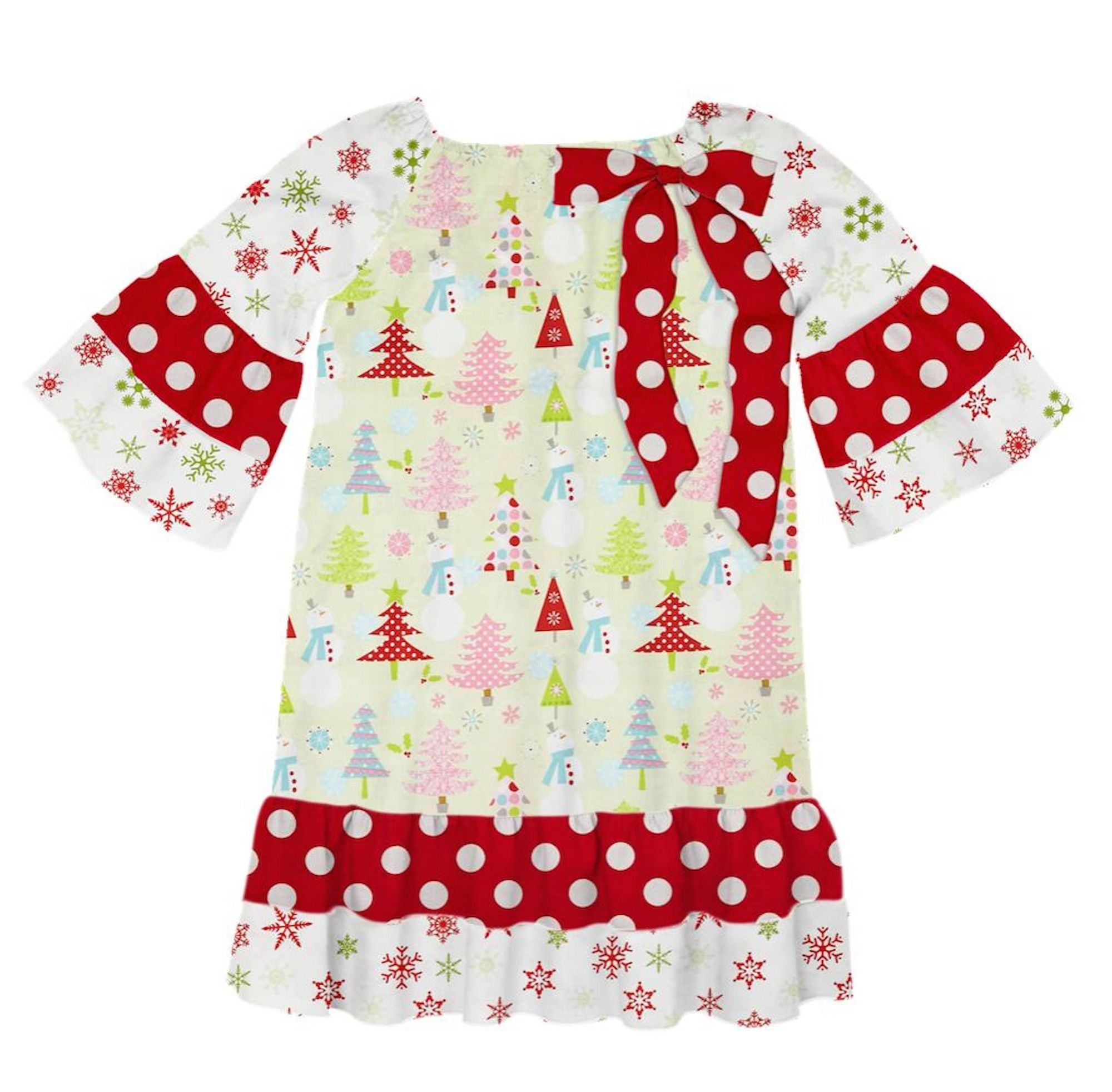 Check out this cute Christmas dress Heather Thompson created on Designed By Me from Lolly Wolly Doodle!