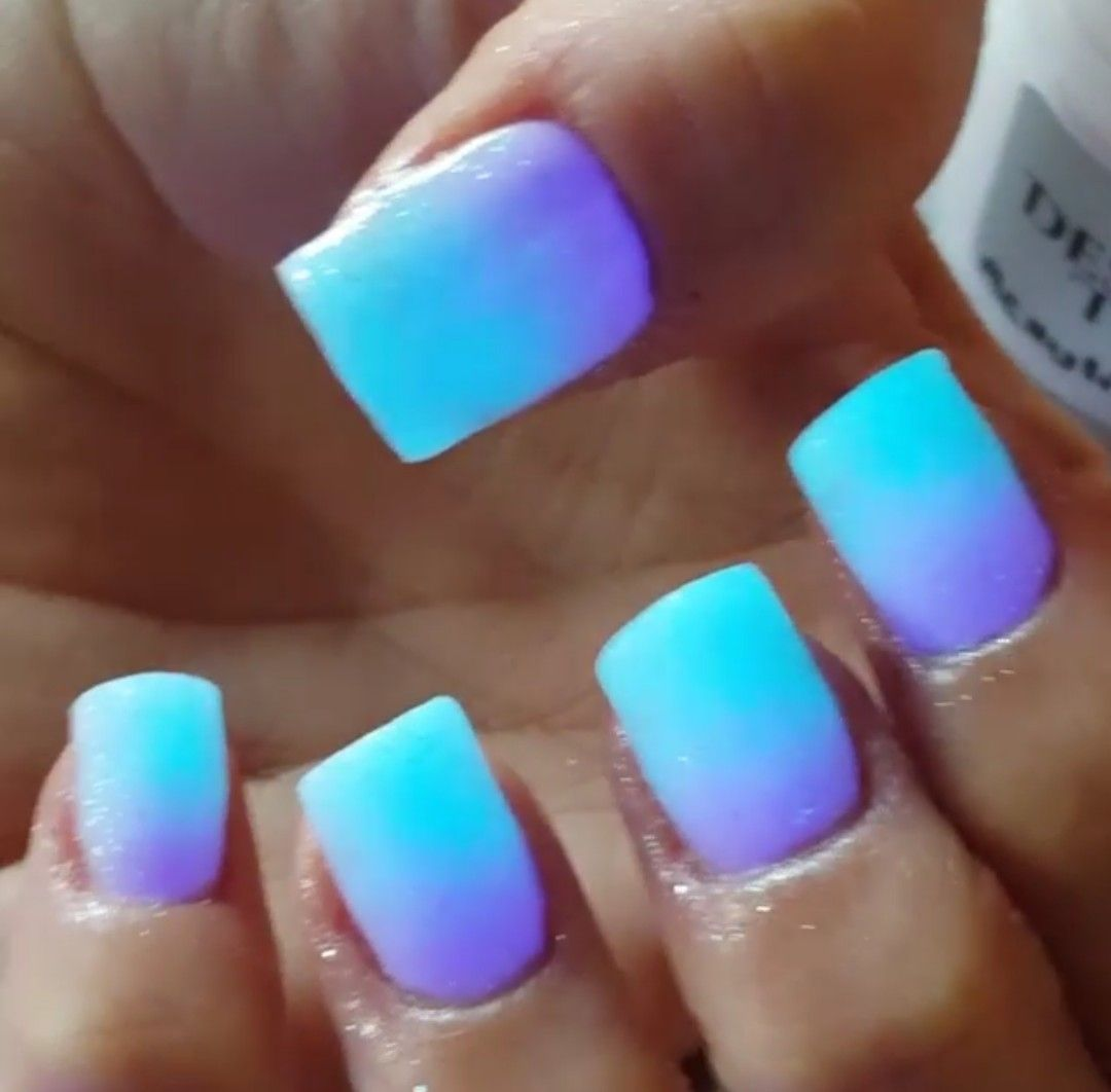 Glow in the dark nails! | Nailed it! | Pinterest | Dark nails