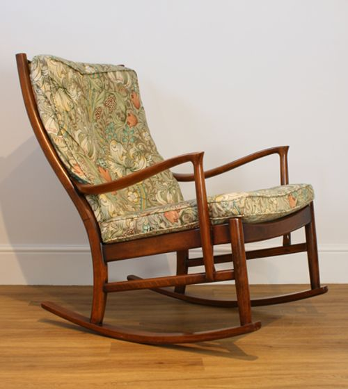 Amazing A Parker Knoll Florian Rocking Chair Made From Stained Onthecornerstone Fun Painted Chair Ideas Images Onthecornerstoneorg