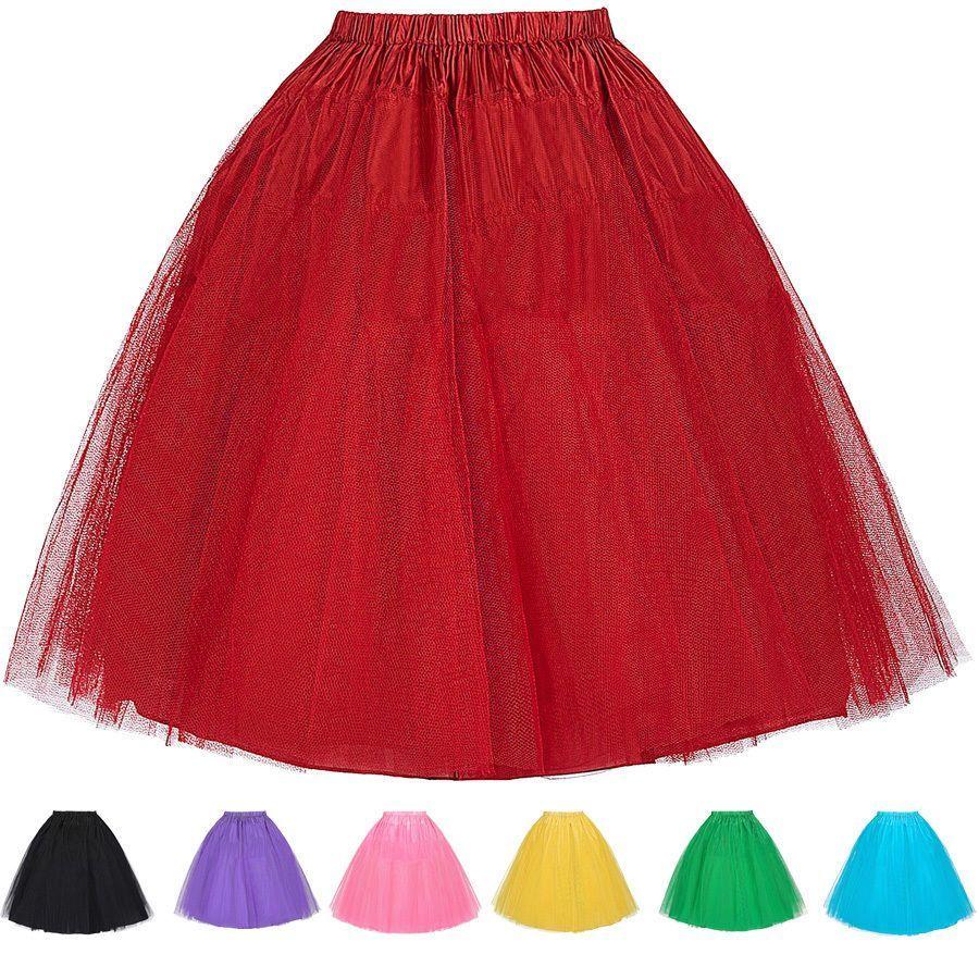 Details about tutu s wedding petticoat bridal hoop crinoline prom