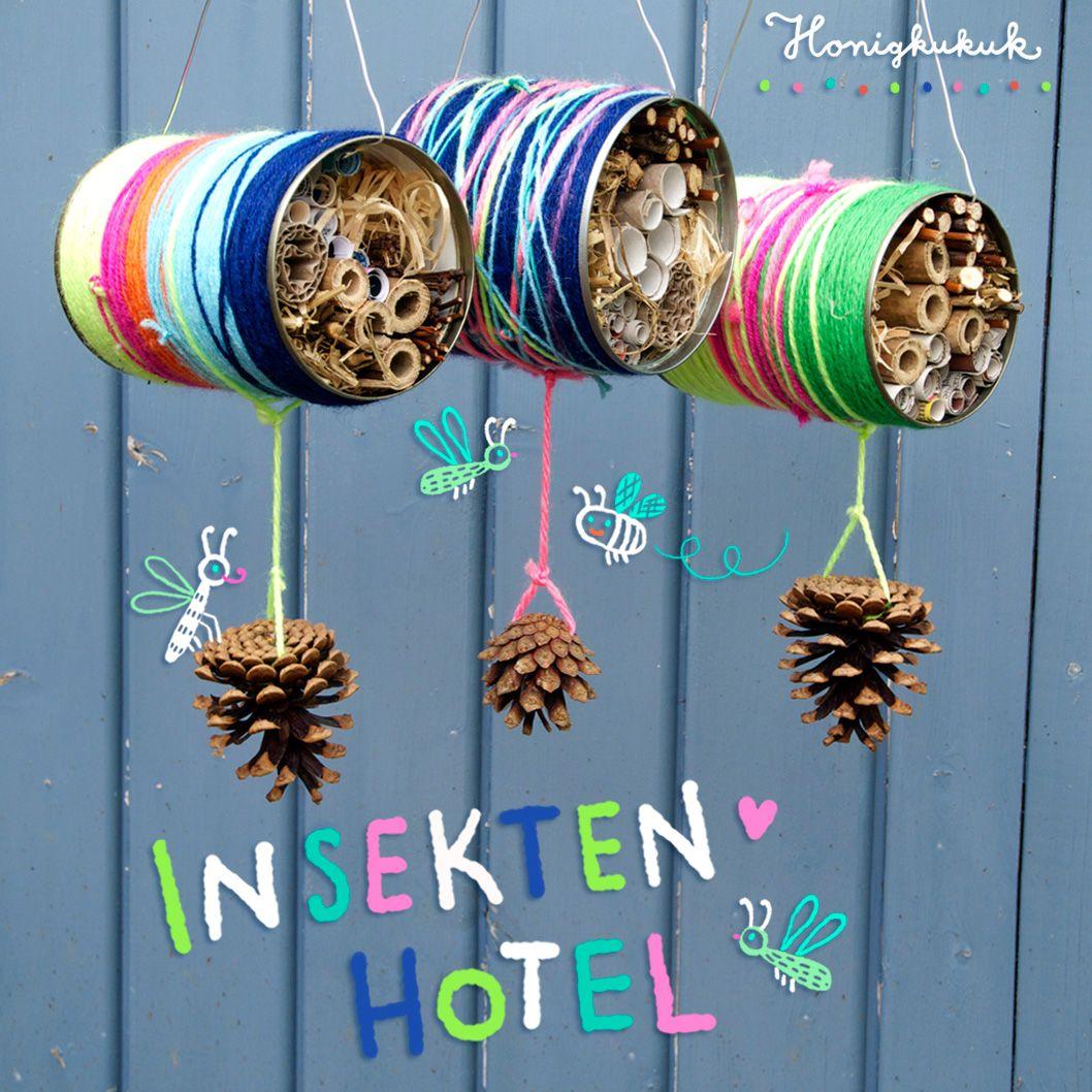 UPCYCLINGIDEE: Insektenhotel aus Blechdose basteln
