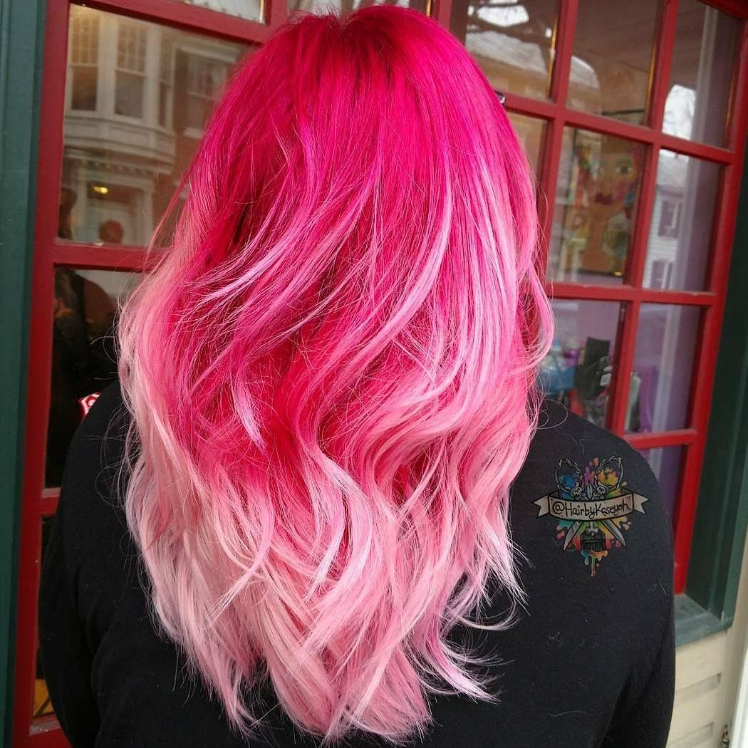Hairbykaseyoh pulpriothair brazillianbondbuilder colorful hair