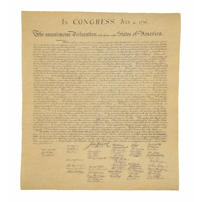 Us Declaration Of Independence Historical Document On Antiqued Parchment Paper Historical Documents Us Declaration Of Independence Declaration Of Independence