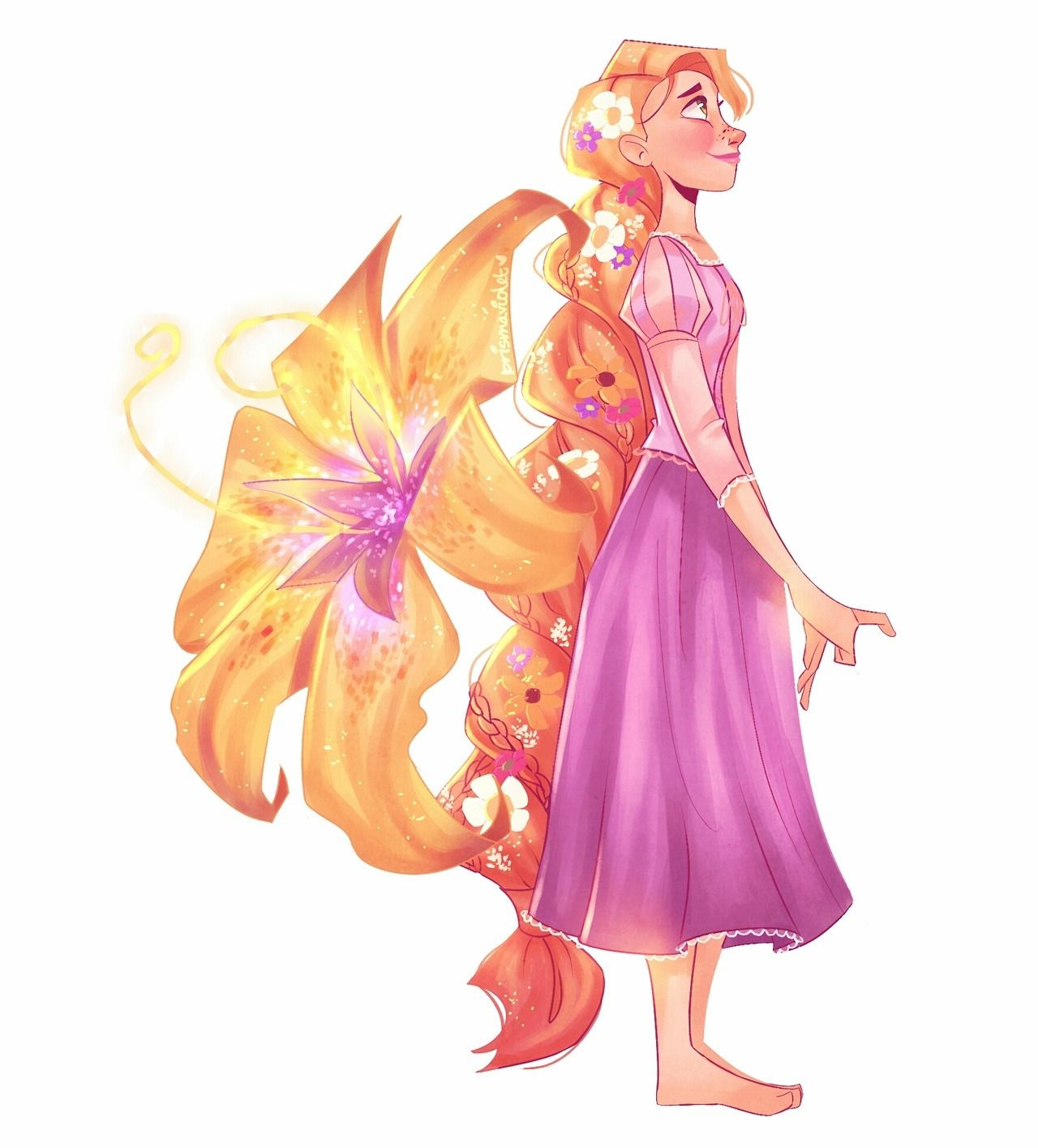☀ it's been seven years since the sunshine princess left her tower. happy anniversary, tangled ☀