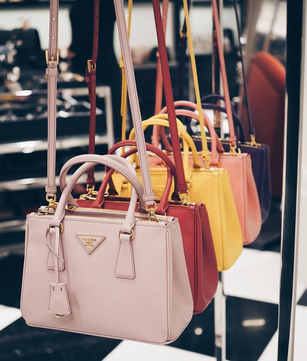 Prada Galleria Bag Colors #pursesandbags Can You Pick A Color? #purses