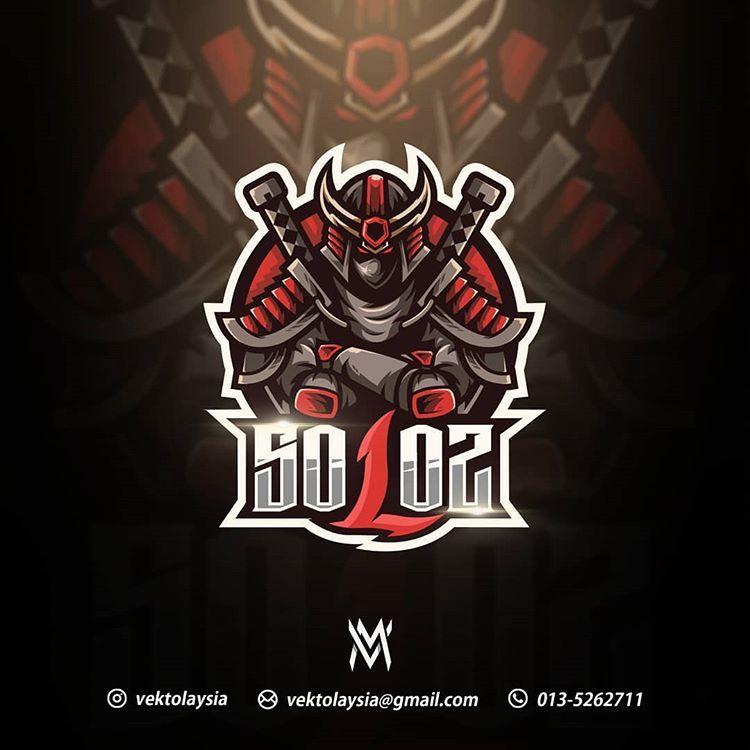 Vector Malaysia C On Instagram Soloz Mascot Logo Gaming Solozsoloz Hope You Appreciate My Work Hard Doing Yo Mascot Logo Mascot Logo Gaming Cool Logo