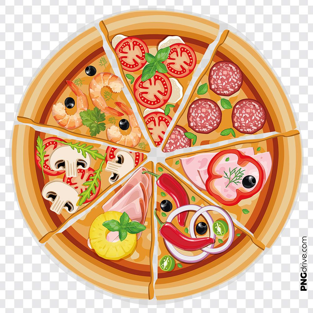 Pin By Png Drive On Pizza Png Images Fruit Pizza A Food Food
