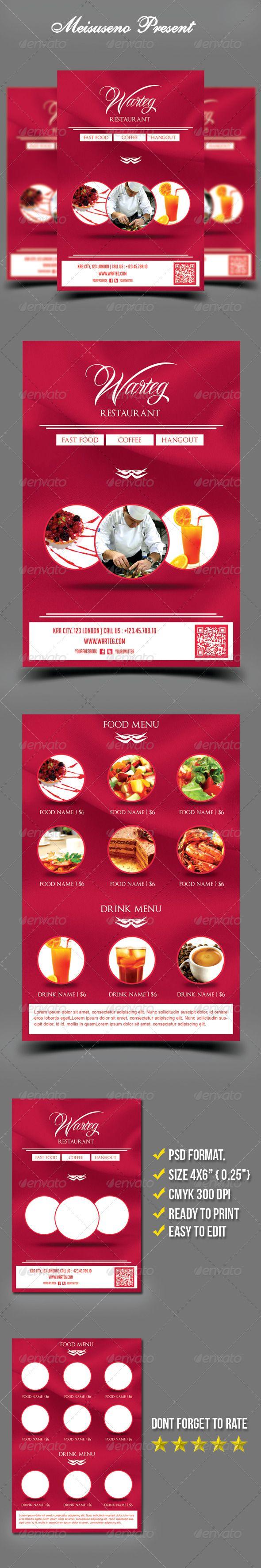 warteg restaurant flyer template adobe photoshop flyer template warteg restaurant flyer template graphicriver