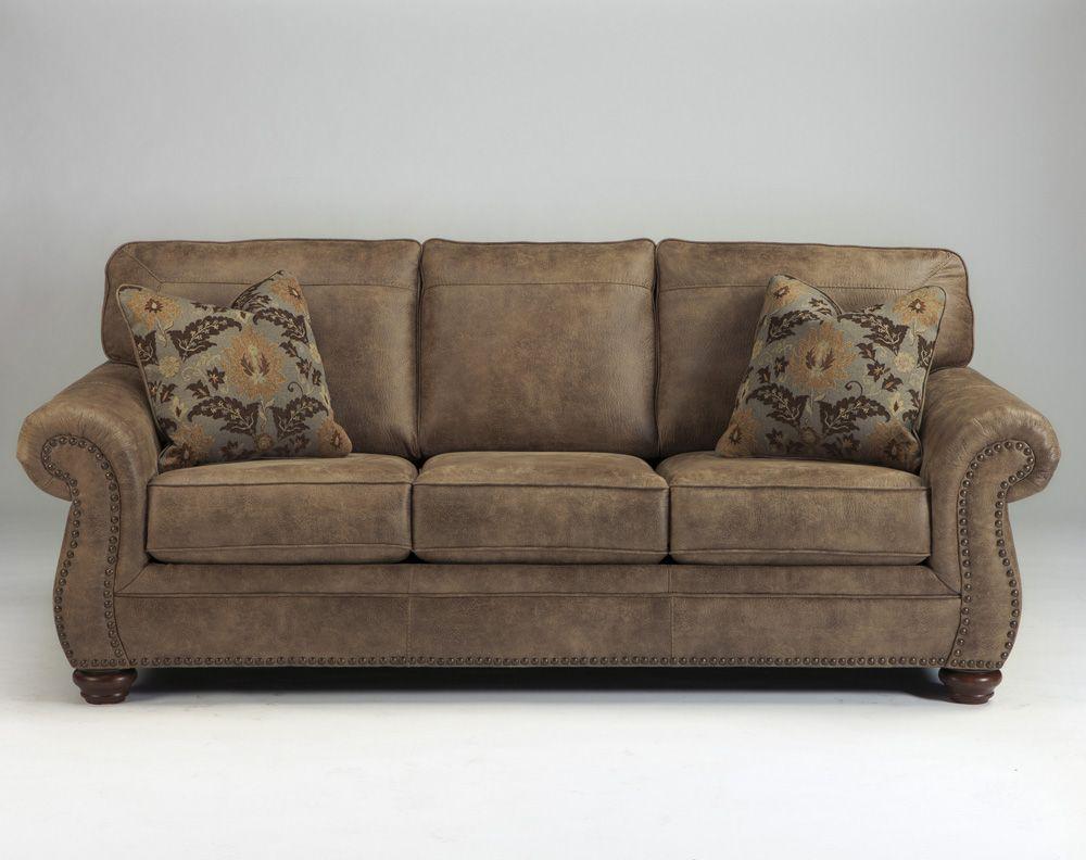 Раскладной диван с мягкими подлокотниками Larkinhurst - Earth, Ashley