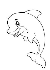 afbeeldingsresultaat voor waterdieren kleurplaat dolphin