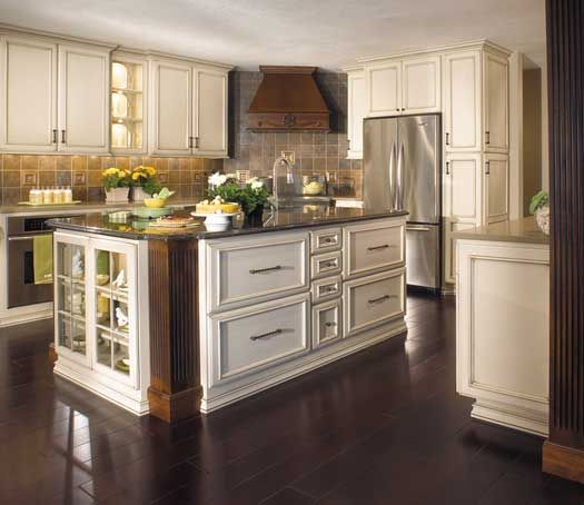 Remodel Kitchen With White Cabinets: Kitchen Remodel With Island. Perimeter