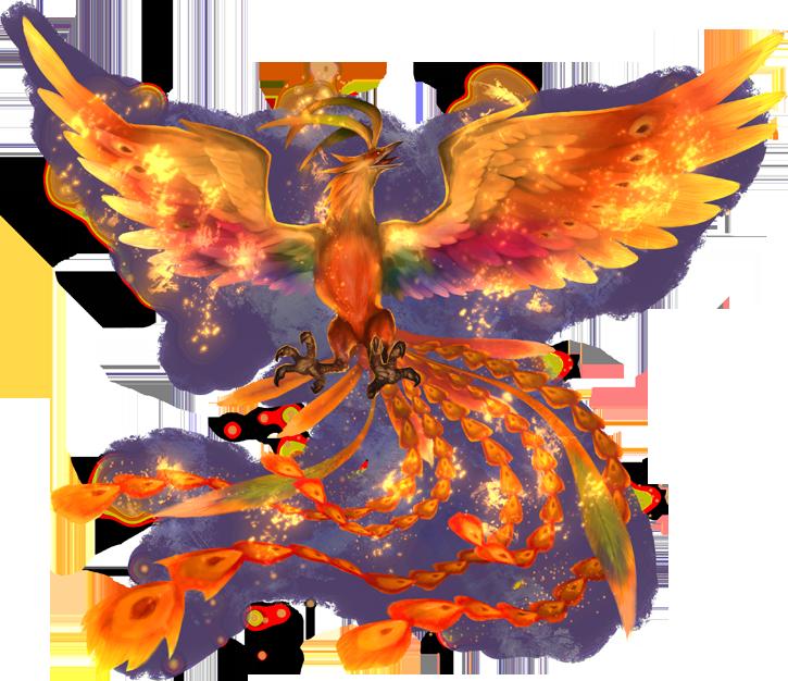 Картинки птица феникс на прозрачном фоне, красные гифка