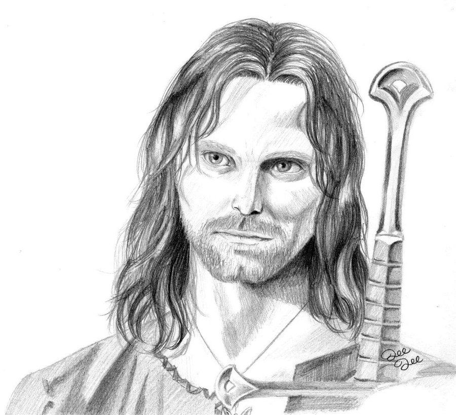 aragorn | Coloriages | Pinterest