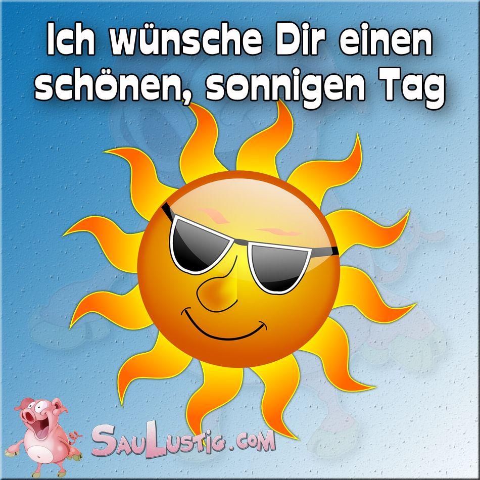 Einen sonnigen Tag http://saulustig.com   Sonnige tage