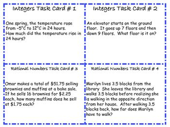 Free 7th Grade Math Common Core Word Problem Task Cards 16 Cards Common Core Word Problems Word Problems Task Cards Word Problems