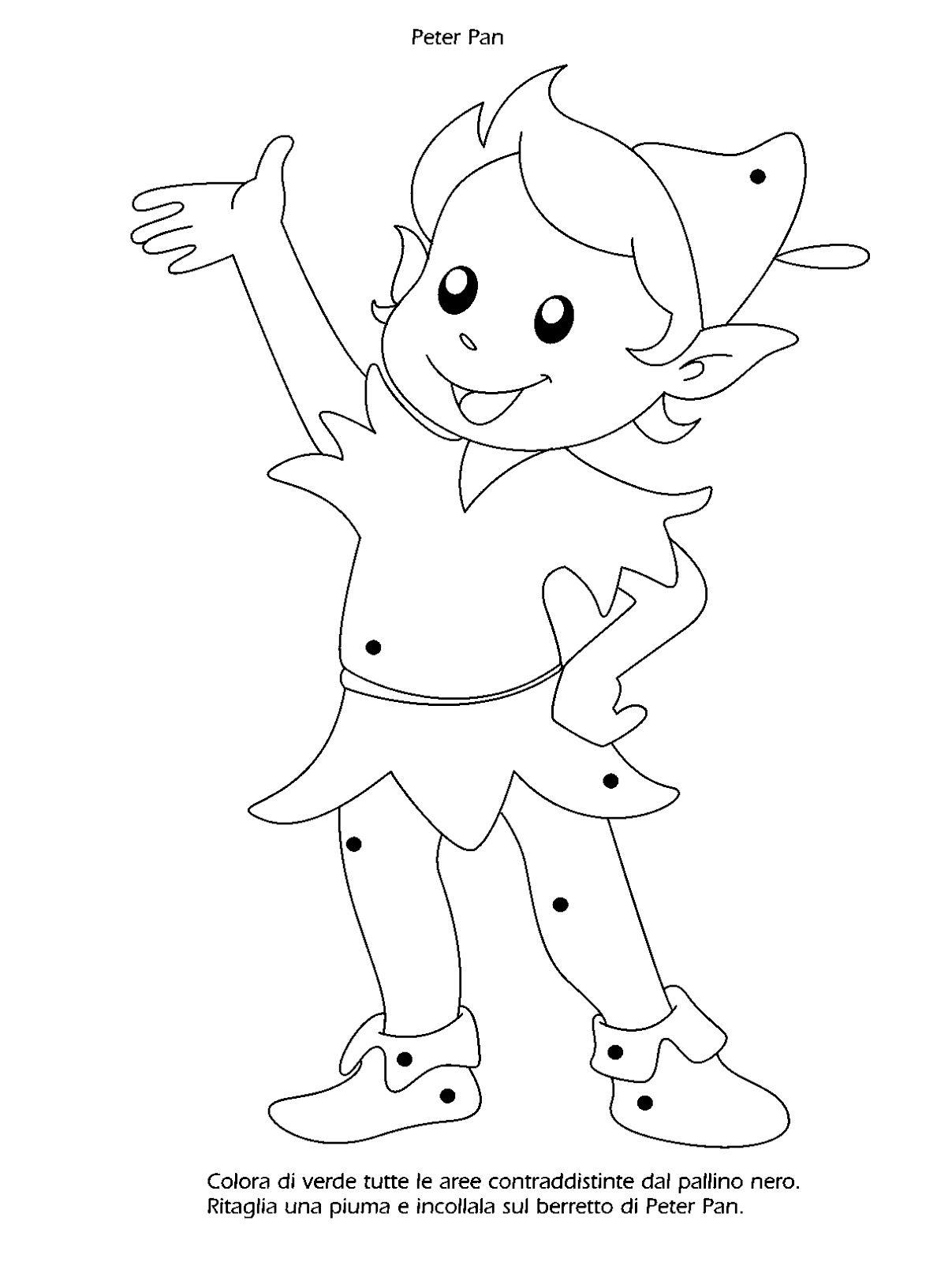 La Maestra Linda Peter Pan Nel