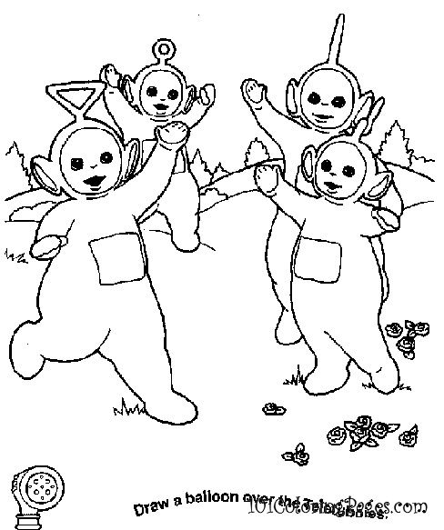 Teletubbies Coloring Book Kids Fun Com: My Babies LOVED The Teletubbies