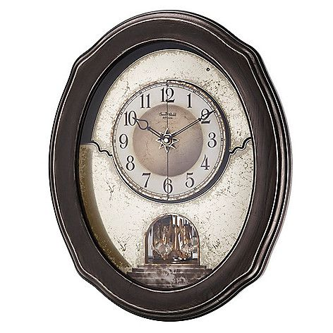 Evine Online Home Shopping Rhythm Timecracker Vintage Magic Motion Wall Clock Made W Swarovski Crystals On Sale Item Vintage Wall Clock Wall Clock Clock