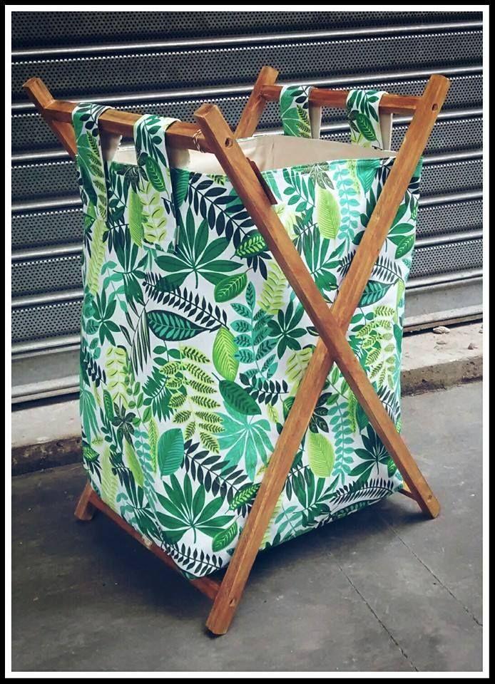 Cesto plegable para ropa comprar en simona deco arq - Cestos de madera ...