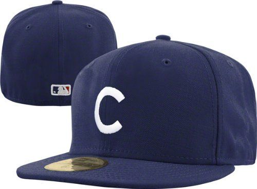 info for df9ac 2c1a3 Chicago Cubs New Era Navy 1912 Tbtc On Field Fitted Hat by New Era.  34.99