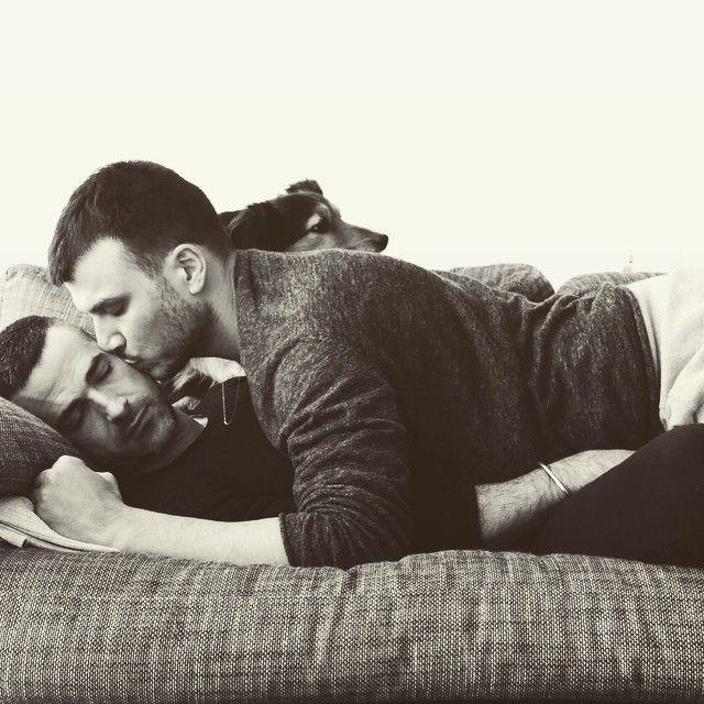 Cuddles On Monday Pamann Love Gay Cuddles