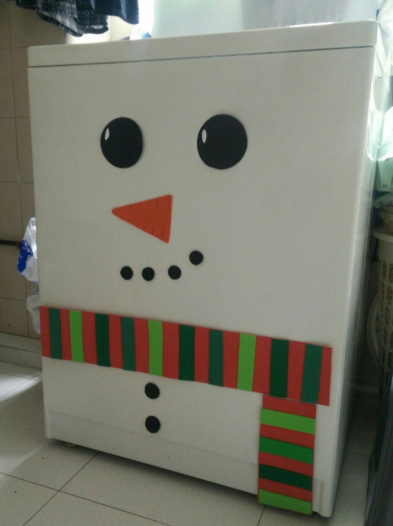 Lavadora navideña
