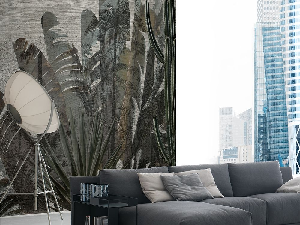 Tropical wallpaper HAVANA Green Collection By Adriani e Rossi ...