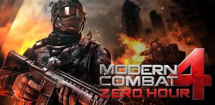 Modern Combat Zero Hour is first person shooter game. Modern Combat 4 Zero  Hour android game is developed by Gameloft Montreal.