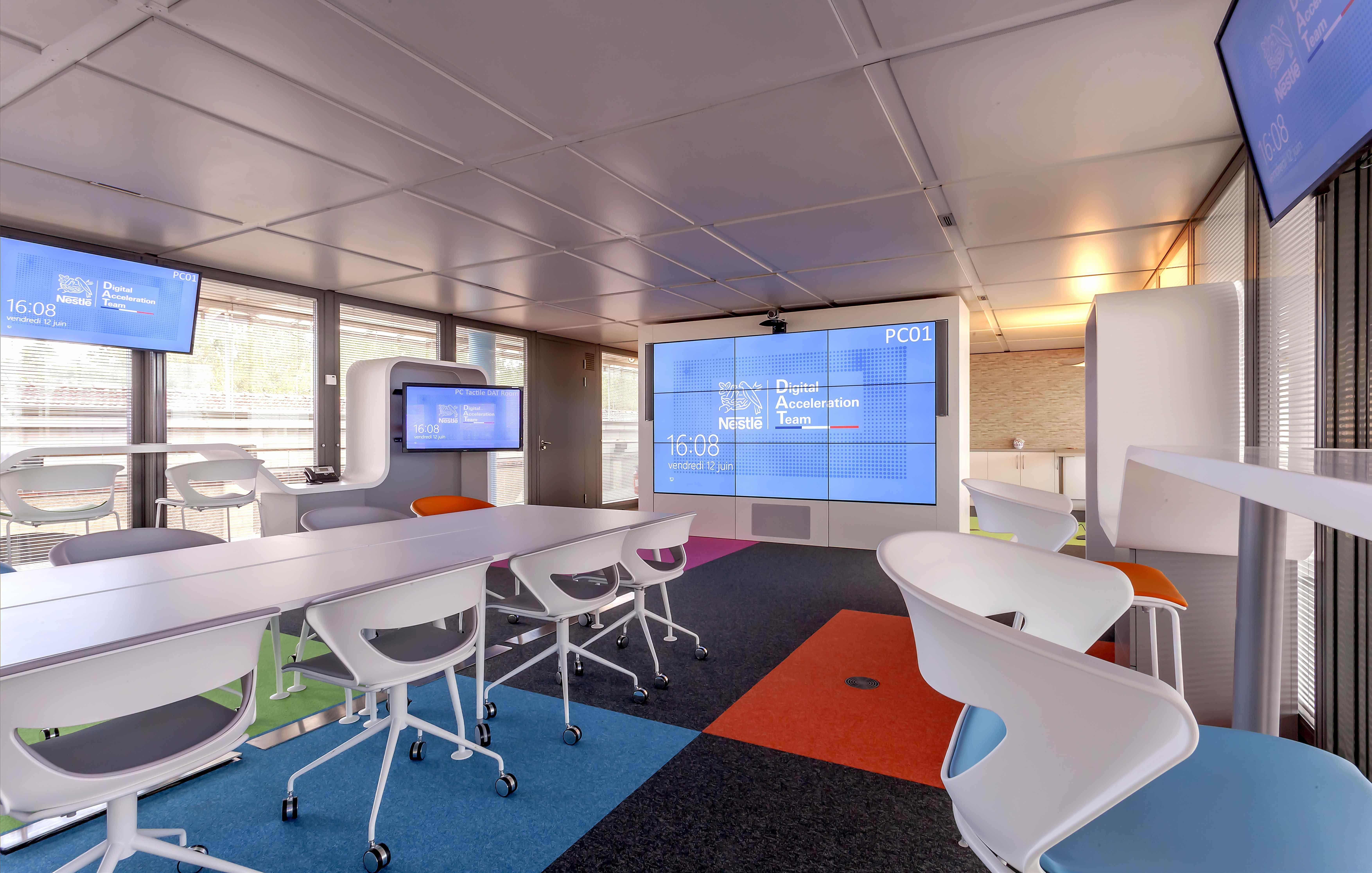 Mobilier de bureau Nestl Digital Space Habillage dcrans Plus