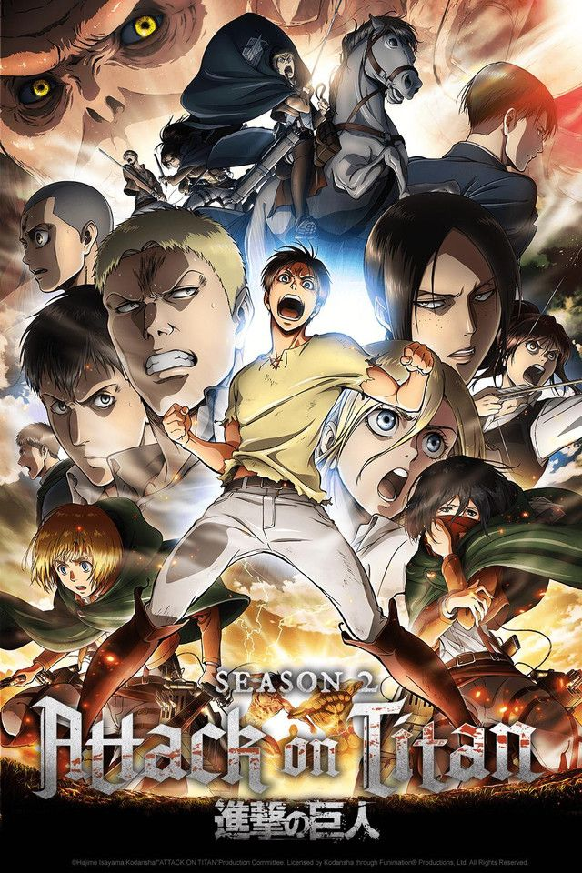 Known In Japan As Shingeki No Kyojin Many Years Ago The Last Remnants Of Humanity Were Forced Attack On Titan Season Attack On Titan Anime Attack On Titan S2