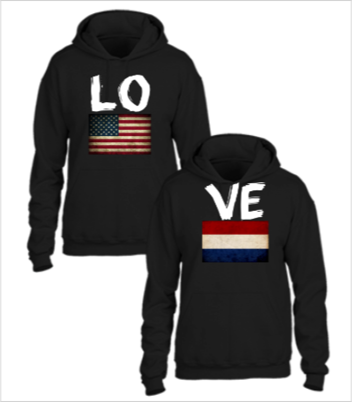 american nether land love couple design
