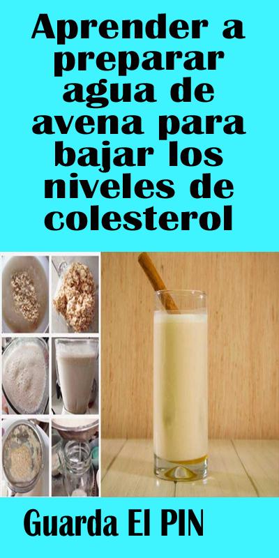 Aprender A Preparar Agua De Avena Para Bajar Los Niveles De Colesterol Salud Y Remedio Soap Bottle Hand Soap Bottle Hand Soap