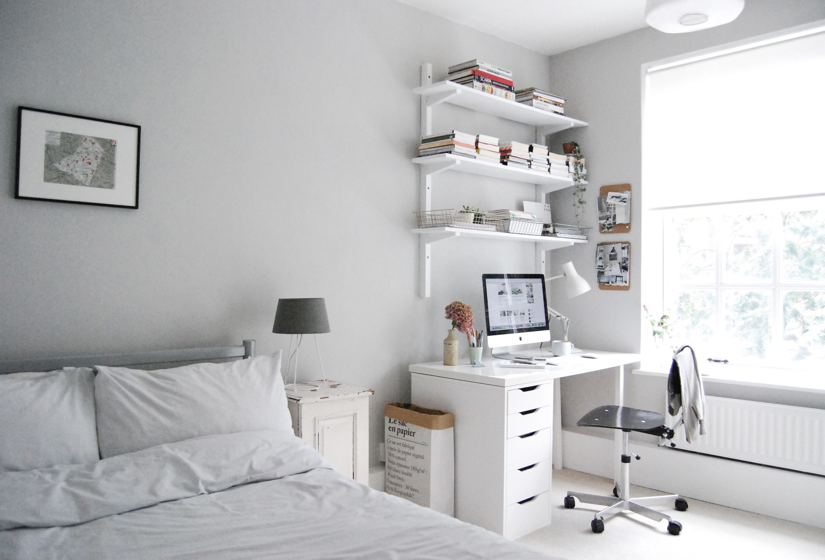 catesthill-guest-room-makeover-45 | Working space | Pinterest ...