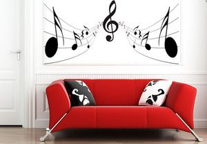 Music Note Wallpaper For Bedroom Decor Wall