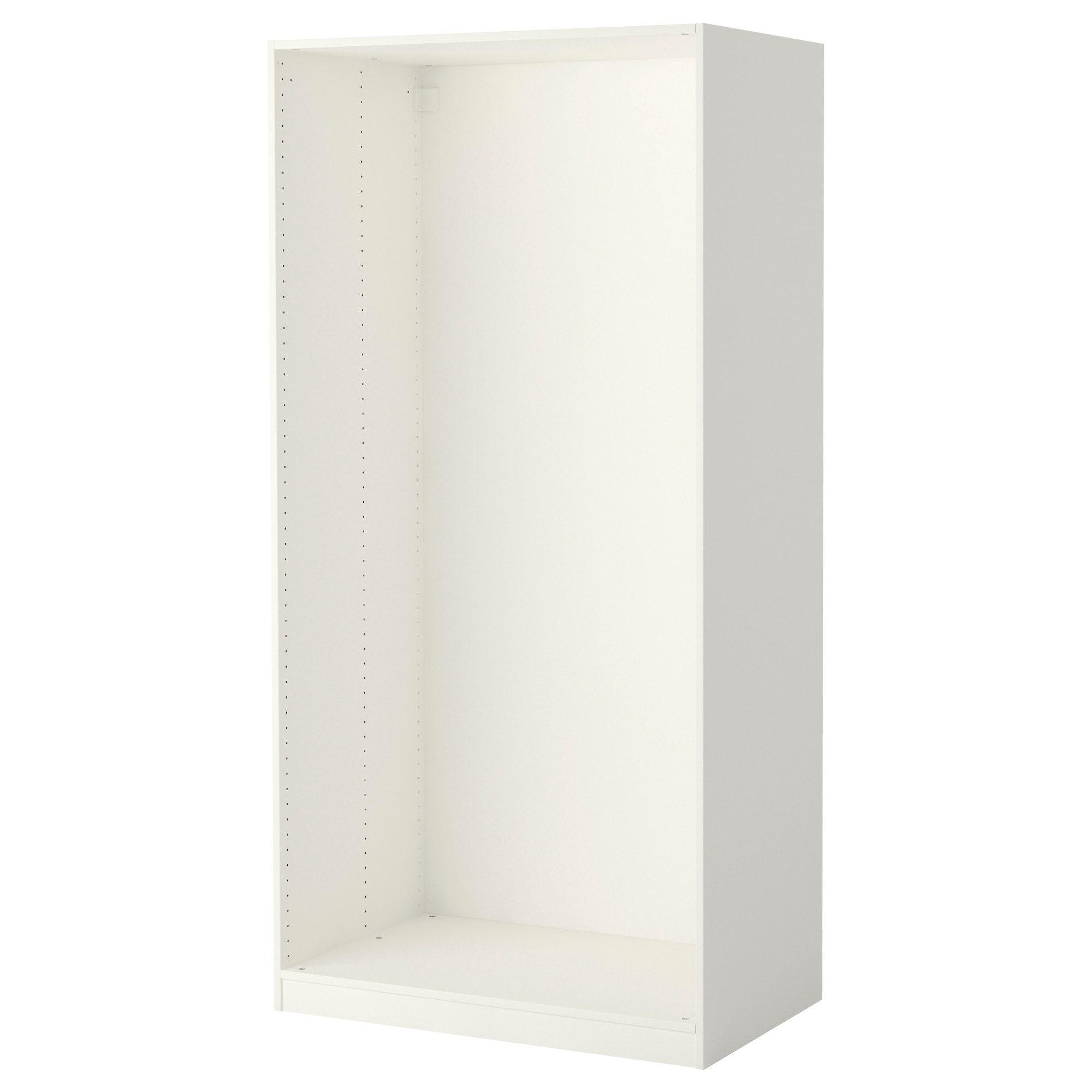 Pax Wardrobe Frame White 39 3 8x22 7 8x79 1 8 Ikea Pax Wardrobe Ikea Pax Wardrobe Ikea Pax