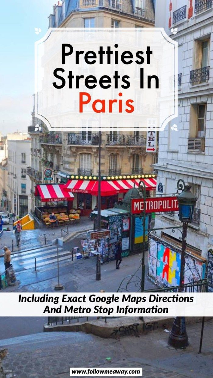 Prettiest Streets In Paris And How To Find Them   Cute Paris streets for photography   streets in paris you must visit   Paris travel tips   things to do in Paris   hidden gems in Paris   best things to do in Paris #paris #parisian #paristravel #france #hiddengems