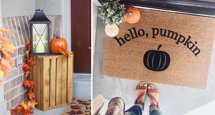 10 id es pour d corer votre entr e cet automne - Decorer sa maison virtuellement gratuit ...