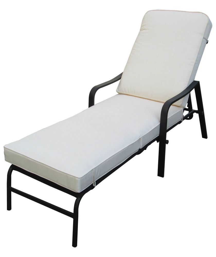 Argos Sicily Garden Table And Chairs: Buy Barcelona Cushioned Garden Lounger At Argos.co.uk