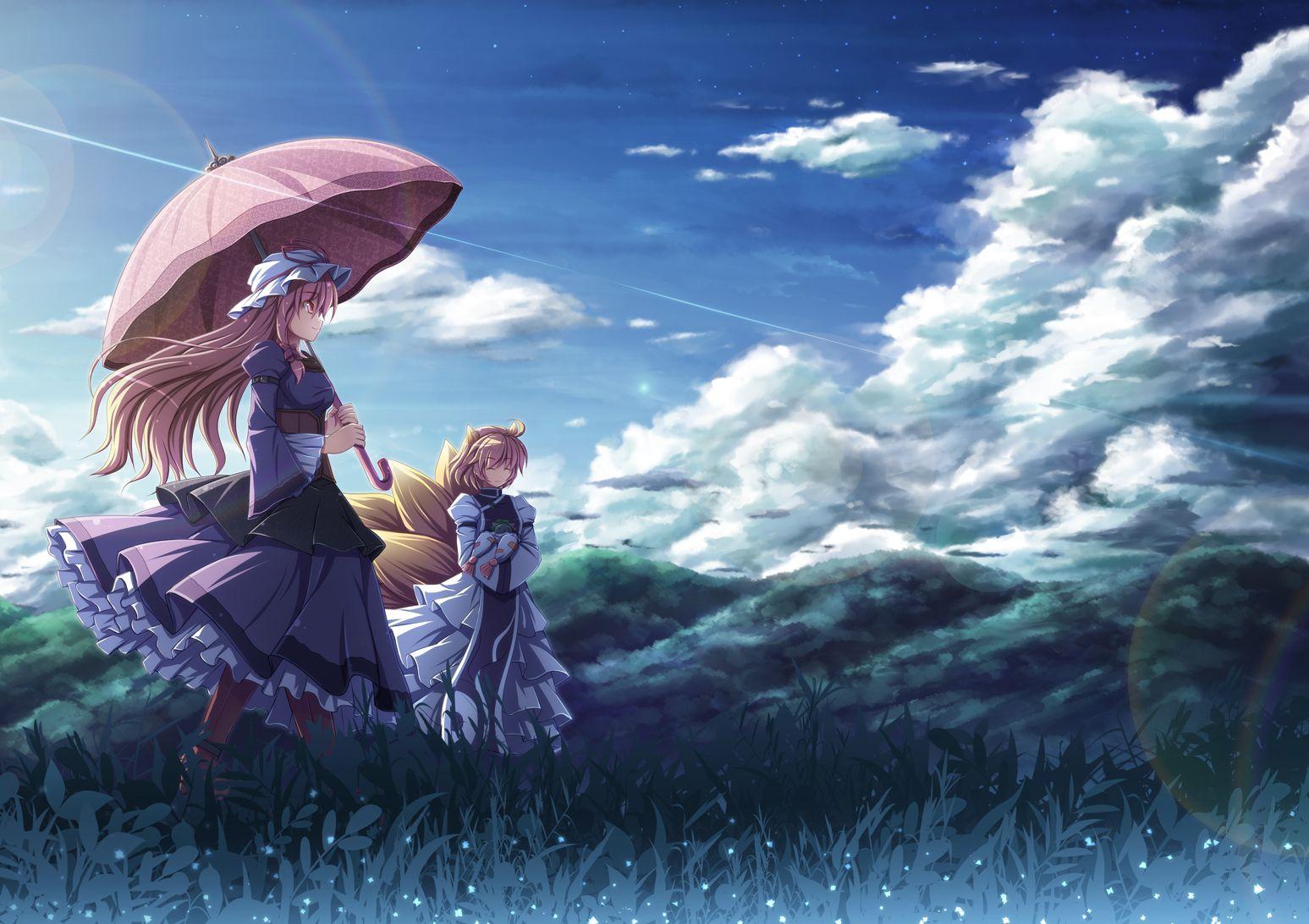Windy weather. Yakumo, Anime, Anime images