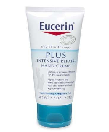 EUCERIN PLUS INTENSIVE REPAIR HAND CREME Alpha Hydroxy Acids And Urea Make This Lotion An Especially Good Choice For Dry Rough Hands That N