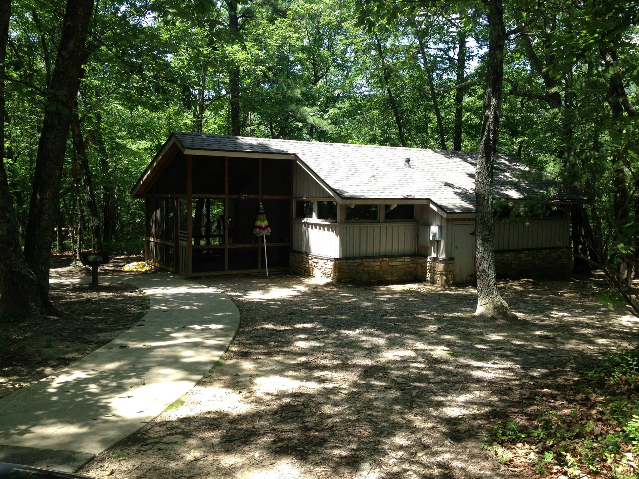 Cabins Available For Rent At Hanging Rock State Park House